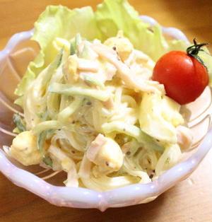 春雨のマヨネーズサラダ レシピ