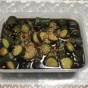 ぼりぼり胡瓜のお漬物
