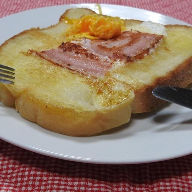 簡単くりぬきトースト