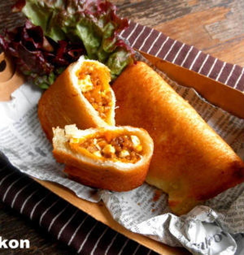 ロシア料理を簡単に♪食パンで「ピロシキ風」を作ってみよう!