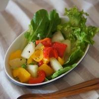 パッションフルーツアントルメと夏野菜たっぷり!米油レシピ