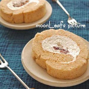 きな粉にほうじ茶も。和テイストの「ロールケーキ」アイデア