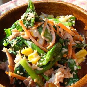 レンジを使えば5分以内で作れちゃう♪小松菜を使った副菜レシピ