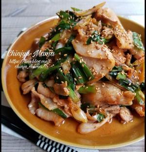 【調味料シリーズ/ケチャップ&食べラー編】豚とニラのケチャラー炒め