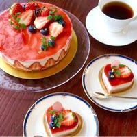2016.バレンタイン * 苺とレアチーズのムース