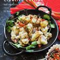 スパイス大使★手軽な一皿で家バル♪野菜ハーブソース&サクサク衣の蛸フリトー