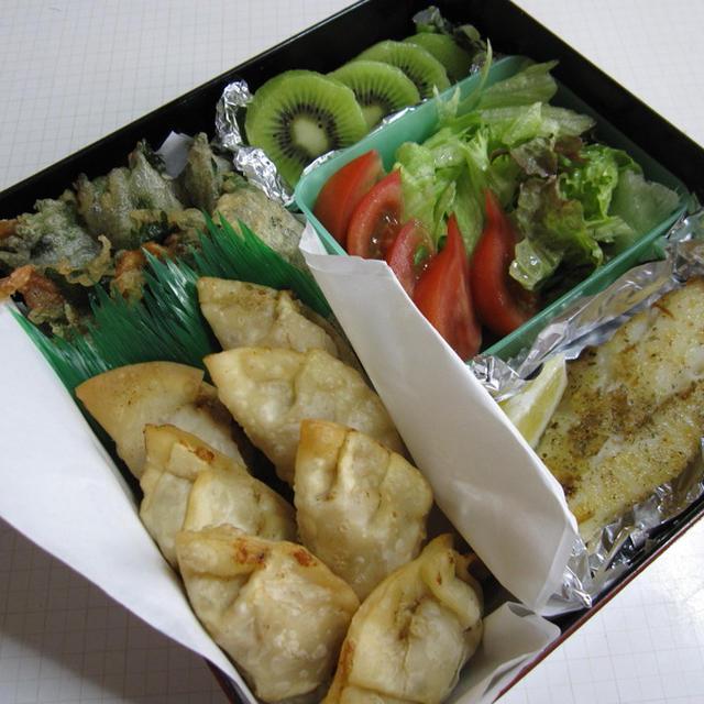 『海老餃子』&『えびえび天ぷら』
