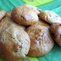 レーズンとクルミのクッキー