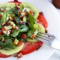 ストレス解消。キウイのリフレッシュサラダ