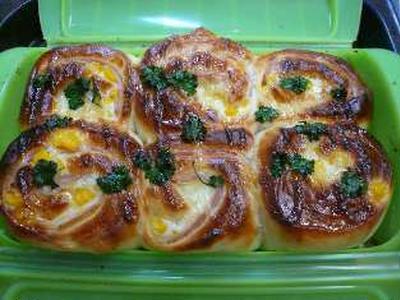 >ルクエでハムチーズパン。 by よりさん
