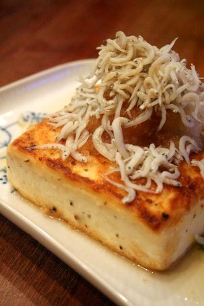 【1番レシピ】豆腐ステーキ しらすおろし乗せ  & タルトタタン☆
