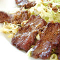 麺つゆで♪ボリューム焼肉レタスサラダ