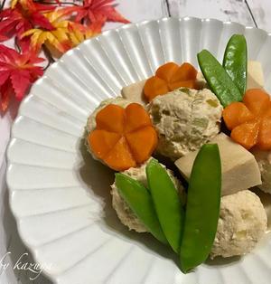 鶏団子と高野豆腐の煮物|夏を振り返る