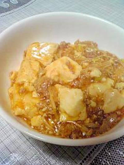 エノキしゃきしゃきヘルシー麻婆豆腐