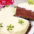 ショコラ・オ・ポワール(洋なしとチョコレートのケーキ)