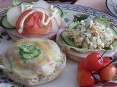 ブランチメニュー と 「いっちゃんお料理デモイベント」