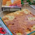 耐熱皿で作る!*バナナケーキ*昭和産業さま『ケーキのようなホットケーキミックス』