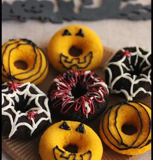 ハロウィンに♪HMの蒸しドーナツ・デコ編とラッピング