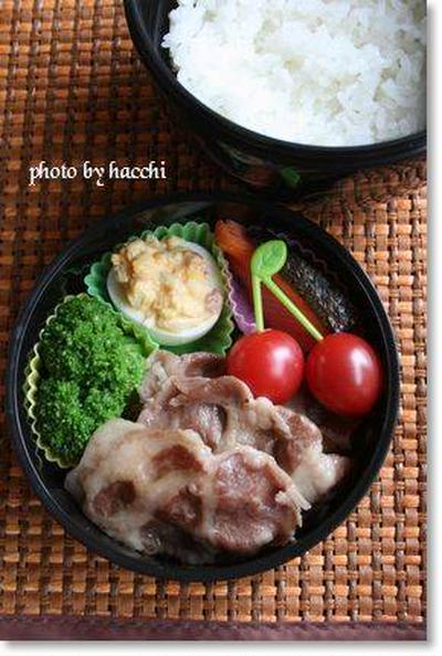 豚肉のミルフィーユ蒸し焼き&ブロッコリーの塩麹和え