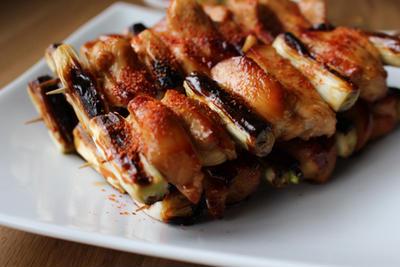 鶏ムネ肉の焼き鳥