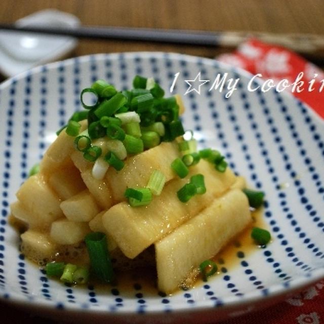 長芋の柚子胡椒ポン酢漬け