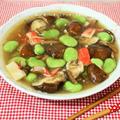 優しい味が嬉しいね♪干し椎茸と空豆の旨煮