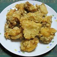 鶏もも肉のハーブ風味塩唐揚げ