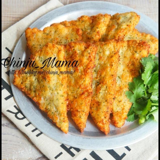 簡単【混ぜて揚げ焼きにするだけ♩】まさかのパン粉で海老パン♡
