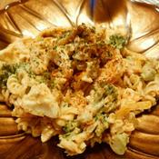 ブロッコリーとツナのパプリカマヨマカロニサラダ