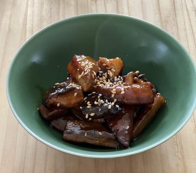 ごぼうと干し椎茸の炒め煮