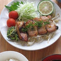 豚肉とゴーヤの味噌漬け焼き & ありがとう♪ by カシュカシュさん