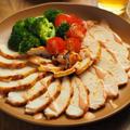 鶏むね肉のオーロラソース焼き、クリスマスチキンにもオススメ!