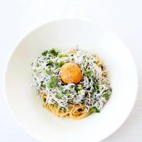 ZENB noodleで、ごま油香る【しらす混ぜ麺】