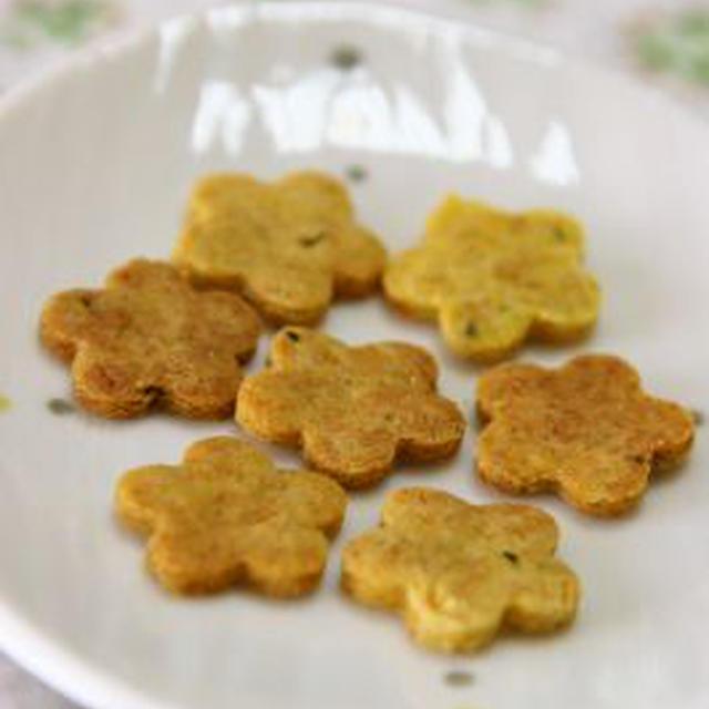 米粉のクッキー・かぼちゃ