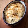 里芋のヨーグルトサラダのブラックペッパーチーズ焼き