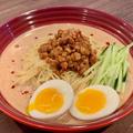 暑い日に食べたくなる「豆乳冷やし坦々麺」!