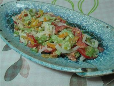 ゴーヤとツナの夏色サラダ