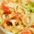 【レシピ】セロリだらけのイタリアンサラダ。でも、美味しい味付け方法