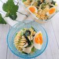 デリ風♡ほうれん草と卵のマカロニサラダ