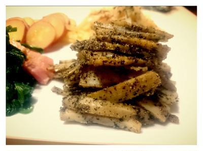 【Recipe:お弁当おかず☆黒ごまれんこん】