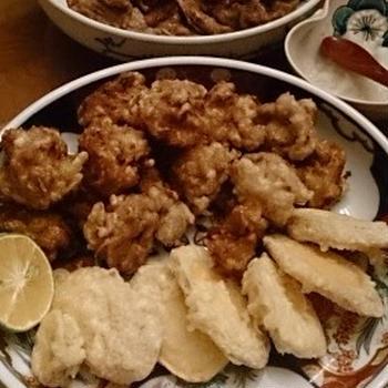 もとは生姜焼きから天ぷらも~
