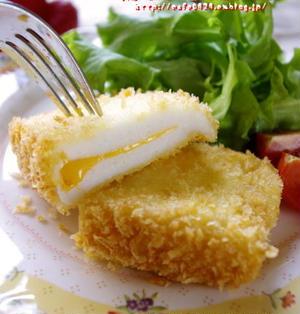 ヒナの大好物!チーズ入りはんぺんカツ
