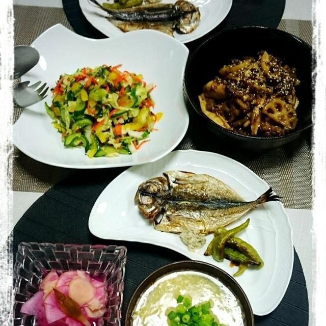 リセット和食の夜ごはん♪
