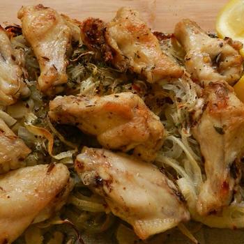 モロカンチキンのオーブン焼き-grilled moroccan chicken-