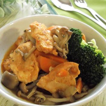 手間を時短!なレシピ♪鶏むね肉をバレンシア風パエリアの素で