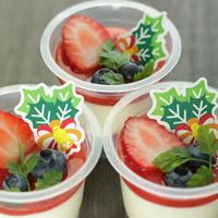 【レシピ】ストロベリーソースのカップレアチーズ