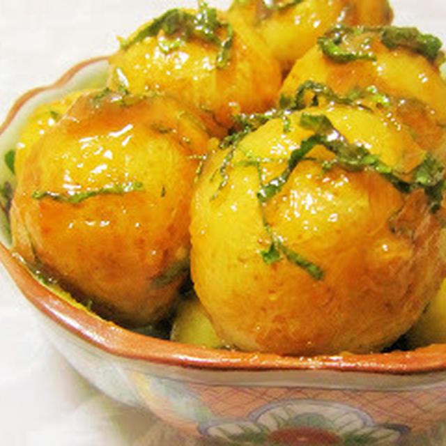 ちいさなお芋で福島県の郷土料理*味噌かんぷら/美味しいつくレポ♡
