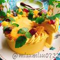 お砂糖なし!南瓜のレアチーズケーキ by Misuzuさん