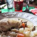 ころりん野菜とチキンのホワイトスープ