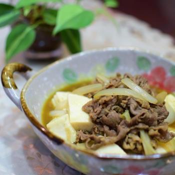 肉豆腐カレー